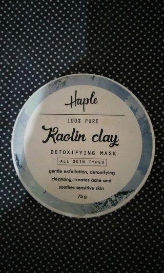 Haple Kaolin Clay - Detoxifying Mask