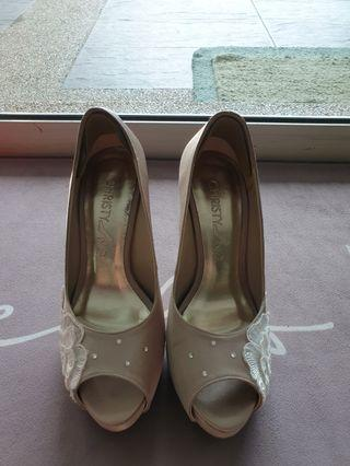 Christy Ng high heel Champagne color