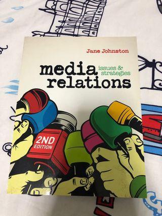 🚚 Media Relations, Issues & Strategies