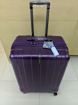 "Brand New Purple 30"" Samsonite Spinner"