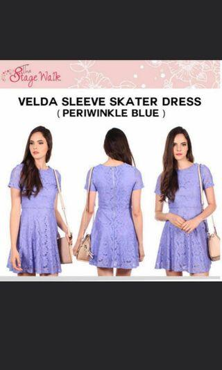 🚚 Thestagewalk velda skater purple size S