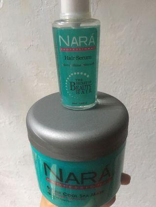 Nara serum and mask