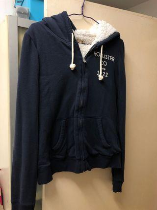 Hollister 深藍色外套