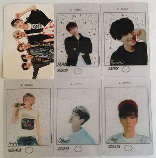 ♡ Shinee & Red Velvet Unofficial Photocards