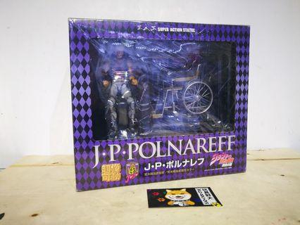超像可動 JoJo奇妙冒險 J. P. Polnareff 銀色戰車