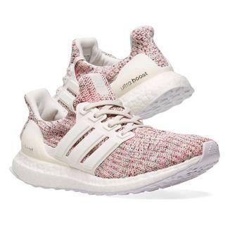 Authentic Adidas Ultra Boost 4.0 white glow pink