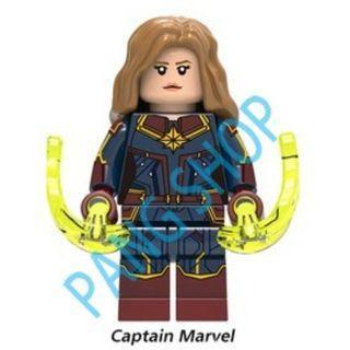 PANGSHOP - Captain Marvel 紅藍戰衣 人仔
