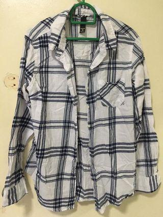 Flannel Checkered Button-up