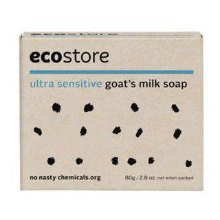 紐西蘭製造 ecostore 敏感肌純羊奶番梘 80g