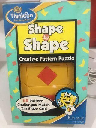 Thinkfun - Shape by Shape