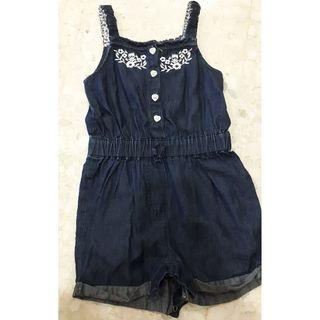 Blue jumpsuit for girl 18-24m 92cm