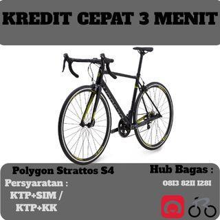 Sepeda Balap Polygon Strattos S4 cicilan tanpa kartu kredit