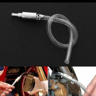 BN Motorcycle & Car Clutch Brake Bleeder Hose One Way Valve Tube Bleeding Tools Kit.