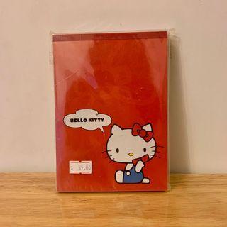 Sanrio 全新 Hello Kitty A6 筆記簿 / 100%New A6 Booklet