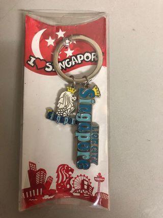 新加坡獅身魚尾鎖匙扣