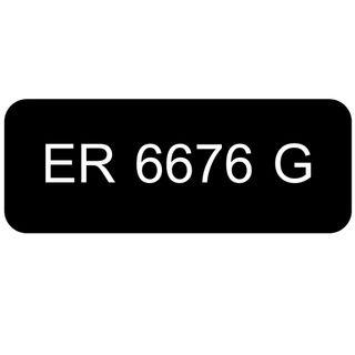 Car Number Plate for Sale: ER 6676 G