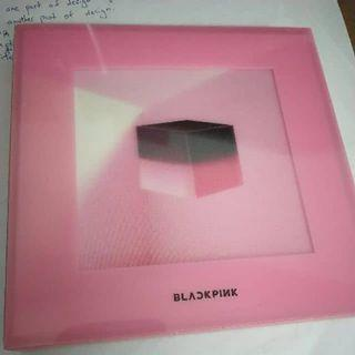 Blackpink Square up album pink.ver without pc