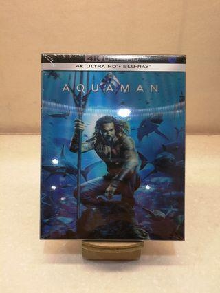 韓版 水行俠 Aquaman 4K+BD 幻變紙套 藍光 鐵盒 Blu-ray Steelbook DC not Superman Wonder Women 神奇女俠