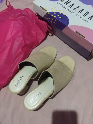 Amazara block heels