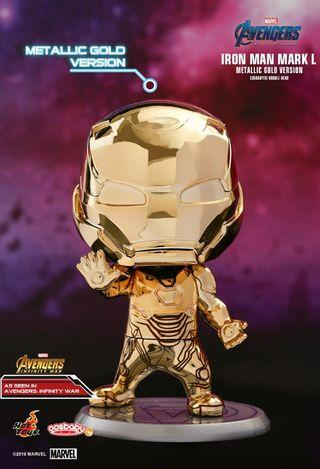 Hot Toys Avengers Ironman Mark L  會場限定 金色 Cosbaby metallic gold ver 復仇者聯盟 終局之戰 End Game
