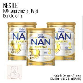 🚚 Free delivery - Nan Optipro HA 3 and NAN Optipro HA 4
