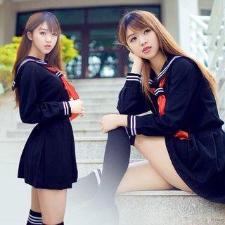 Japanese Sailor Seifuku Cosplay