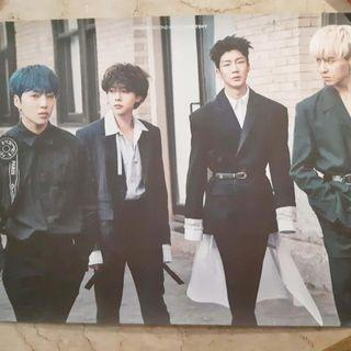 [Official Poster] Winner Second Album : EVERYD4Y (Double-Sided)