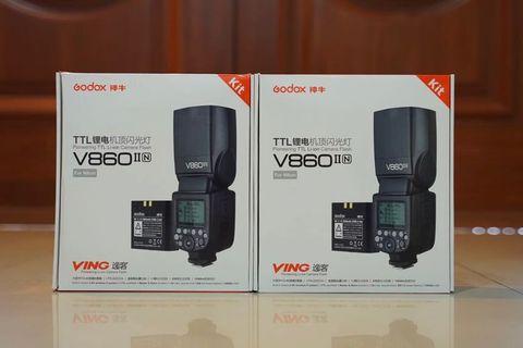 Godox V860ii for Nikon