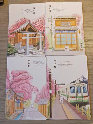 A5 notebook Japanese design great for gift