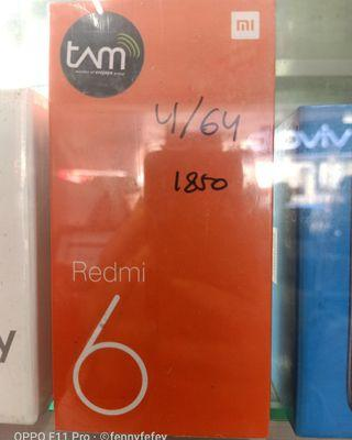Xiaomi Redmi 6 Kredit Mudah