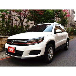 2013 VW TIGUA(白) 1.4