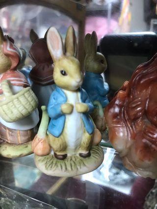 8個陶瓷手工精緻動物們 Kato Kogo (The World of Beatrix Potter)