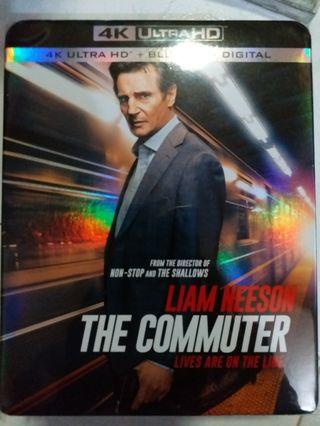 Bluray THE COMMUNTER 追命列車 4k藍光碟