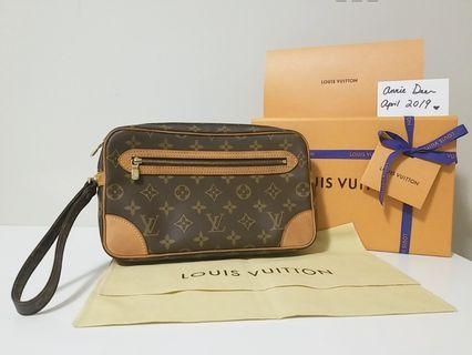 Authentic Louis Vuitton Marly Dragonne GM (FIRM)
