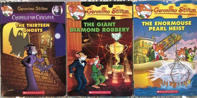 Geronimo Stilton ($20/3 books)