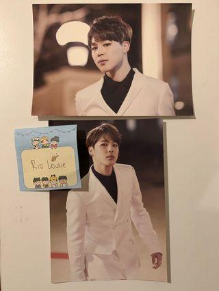 BTS HYYH Live on Stage Epilogue Postcards Complete Set