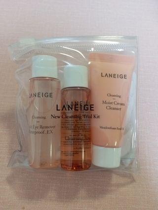 Laneige Cleansing Trial Kit (Moist)
