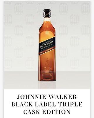 🚚 Johnnie Walker Black Label Triple Cask 1L