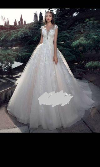 Wedding gown wedding dress 婚紗