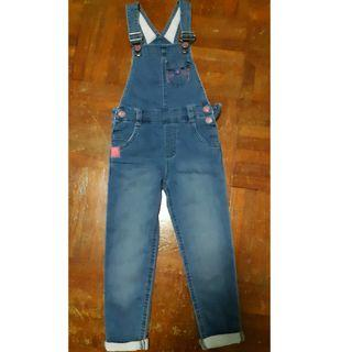 Girl denim jumpsuits 3-4yr old from MotherCare