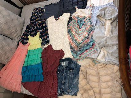 🚚 REDUCED: Girls Dresses and Jackets