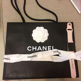 Chanel名牌紙袋 連絲帶🎀