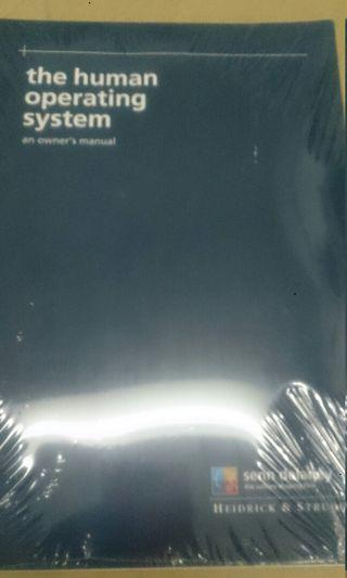 The Human Operating System an owner's manual
