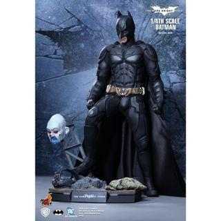 Hot Toys QS 001 1/4 Scale The Dark Knight Rises Batman Bruce Wayne (Special Ver)