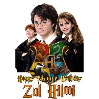 🚚 Cake Topper - Harry Potter