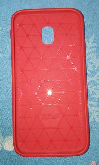 RED SOFT CASE J3 PRO