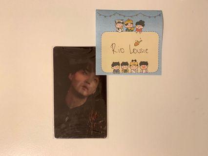 BTS Wings Concept Book Lenticular Card