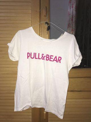 Pull&Bear Logo Tshirt