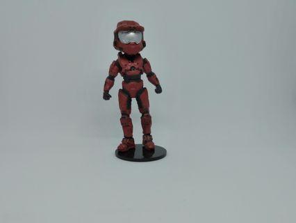 Red Spartan Mark VI - McFarlane Halo Avatar Figures Series 2