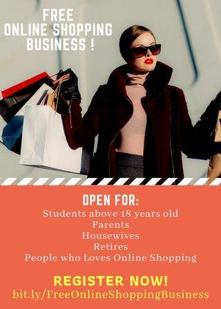 Free Online Shopping Business
